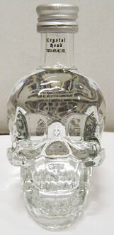 50 ml of crystal head vodka miniatures