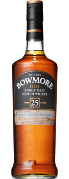 Genuine Bowmore 25 year 43-degree 700 ml boxed