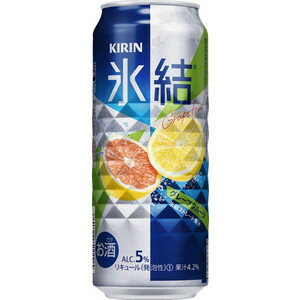 Kirin freezing grapefruit 500 ml cans x 24