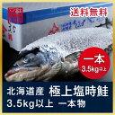 北海道釧路産 塩トキシラズ鮭(1本)...