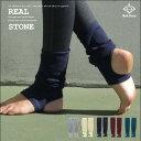 レッグウォーマー[ヨガソックス Mini Yoga Socks RS-G087] RealStone リアルストーン【送料無料/代引き不可・定形外郵便発送】靴下 レ..