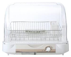 食器乾燥機 コイズミ KDE-6000/W 6人用 ステンレス かご 食器 乾燥 洗い物 キッチン 省スペース シンク コンパクト すっきり ホワイト 白 簡単 大容量 低騒音 水切り 抗菌 清潔 銀イオン 送料無料