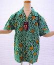 【手ぬぐいアロハ同時購入特典対象品】(2着以上同時購入で単価2,500円)(2着以上同時購入で送料無料)OHAKO - 十八番 - ブランドてぬぐいアロハシャツ