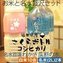 福井県産米【コシヒカリ】白米10合 + 名水百選 わかさ瓜割...