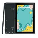 「進化版」Dragon Touch タブレット 7インチ Android9.0 RAM2GB/ROM16GB IPSディスプレイ WiFiモデル デュアルカメラ Kidoz対応 子供にも適当 軽量 ゲーム用PCタブレット 贈り物 日本語説明書
