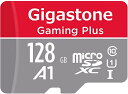 Gigastone Micro SD Card 128GB マイクロSDカード フルHD SD アダプタ付 ミニ収納ケース付 w/adaptor and caseSDXC U1 C10 95MB/S 高速..