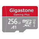 Gigastone Micro SD Card 256GB マイクロSDカード フルHD SD アダプタ付 ミニ収納ケース付 w/adaptor and case SDHC U1 C10 100MB/S 高..