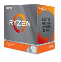 AMD Ryzen 9 3950X, without cooler 3.5GHz 16コア / 32スレッド 70MB 105W【国内正規代理店品】100-100000051WOF