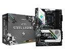 ASRock AMD Ryzen 3000シリーズ CPU(Soket AM4)対応 X570チップセット搭載 ATX マザーボード X570 Steel Legend