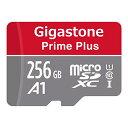 Gigastone マイクロSDカード Micro SD Card 256GB フルHD SD アダプタ付 ミニ収納ケース付 w/adaptor and case SDXC U1 C10 100MB/S 高..