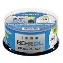 ビクター Victor 1回録画用 BD-R DL VBR260RP30SJ2 (片面2層/1-6倍速/30枚) ホワイト
