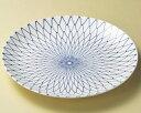 万古焼 網目 12号(37cm)丸大皿日本製 おもてなしの器お惣菜の盛り合わせ 炊きもの 煮物 おばんざいの盛り付けに大振りの皿 深皿 特大サイズ35cm以上