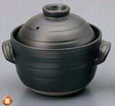 【日本製炊飯土鍋が問屋価格で!】直火用 中蓋付 !!大黒4合ふっくら ご飯土鍋