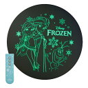 アナと雪の女王 LEDシーリングライト 6畳 | WY-FG06DFZ | 蓄光 | 3200lm | 3段階調光 | アナ雪リモコン付属 | ドウシシャ 1年保証