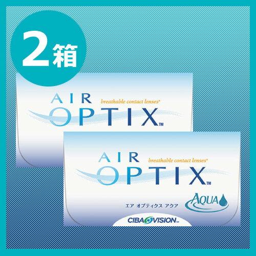 エアオプティクスアクア2箱セット/2週間使い捨てコンタクトレンズ...:sakuracl:10005451