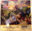 Disney ディズニー 美女と野獣 パズル フォールインラブ Beauty and the Beast ''Falling in Love'' Puzzle by Thomas Kinkade ジクソーパズル1000ピース
