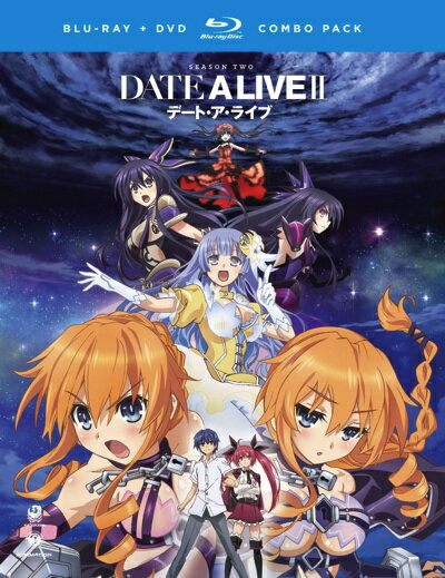 デート・ア・ライブIIシーズン2TVアニメブルーレイとDVDのセットDateaLive2:Seaso