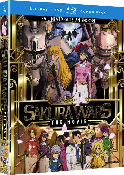 サクラ大戦活動写真劇場版アニメブルーレイとDVDのセットSakuraWars:Movie・お取寄
