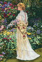 ディメンションズ クロスステッチ 刺繍キットDimensions Counted Cross Stitch, In Her Garden