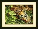 ディメンションズ クロスステッチ 刺繍キットDimensions Counted Cross Stitch, Leopard in Repose
