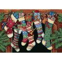 ディメンションズ クロスステッチ 刺繍キット Dimensions Counted Cross Stitch, The Stockings Were Hung?