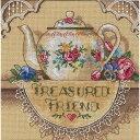 ディメンションズ クロスステッチ 刺繍キット Dimensions Counted Cross Stitch, Treasured Friend Teapot・お取寄