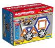 マグフォーマー MAGFORMERS 磁石を使った組み立て遊具 四輪クルーザー 30ピースセット ブルー×オレンジ