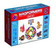 マグフォーマー MAGFORMERS  磁石を使った組み立て遊具 シリーズ最大の144ピース(八種類)スマートセット 6歳から