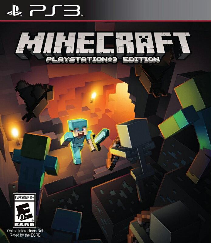 PS3 北米版 MINECRAFT PLAYSTATION 3 EDITION マインクラ…...:sakuradome:10002383