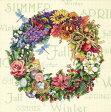 Dimensions(ディメンジョンズ) Needlecrafts Counted Cross Stitch クロスステッチキット, Wreath Of All Seasons フラワーリース