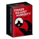 人倫対戦カードゲーム Cards Against Humanity 専用 非公式エクスパンションカードセットCrabs Adjust Humidity ボリューム1 お取寄