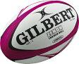 ギルバート ゼノン ラグビーボール練習用 (カラー:ピンク/ブラック) Gilbert Zenon Trainer Rugby Ball