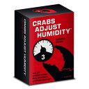 人倫対戦カードゲーム Cards Against Humanity 専用 非公式エクスパンションカードセットCrabs Adjust Humidity ボリューム3 お取寄