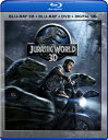ジュラシック ワールド 3D (Blu-ray 3D + Blu-ray + DVD + DIGITAL HD) Jurassic World 3D (Blu-ray 3D + Blu-ray + DVD + DIGITAL HD)