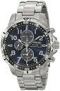 セイコーメンズソーラ腕時計SSC305ステンレスブレスレットSeiko Men's SSC305 Solar-Power Stainless Steel Bracelet Watch