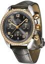[オメガ]OMEGA 腕時計 スピードマスター グレー文字盤 ダイヤ 自動巻 K18PG/ステンレスケース 100M防水 324.28.38.40.06.001 レディース
