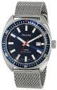 SEIKO [セイコー] パルサー PULSAR メンズ 腕時計 Men's Analog Display Japanese Quartz Silver Watch 日本製クォーツ PS9229 [高級セーム革セット]