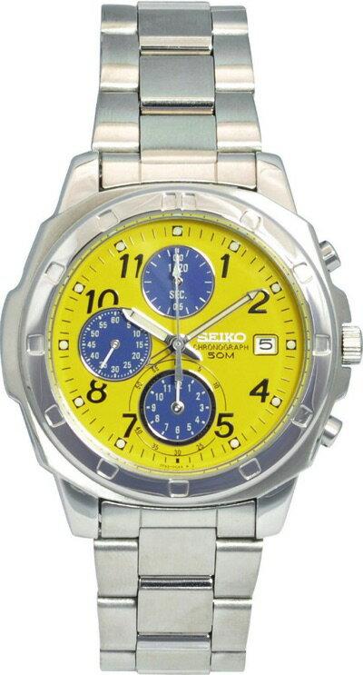 セイコー SEIKO SND409 メンズ 腕時計 ビビッドで個性的な印象のクロノグラフ セイコー SEIKO SND409 メンズ 腕時計
