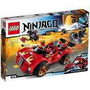 LEGO(レゴ)のニンジャゴー X-1 ニンジャ・チャージャーです。