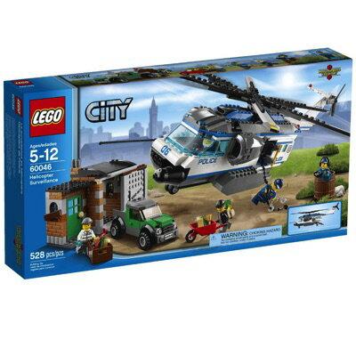 LEGO(レゴ) City Police Helicopter Surveillance シティ ポリスヘリコプターとドロボウのかくれが - 60046