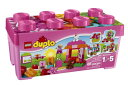 LEGO(レゴ)のデュプロ ピンクのコンテナデラックスです。