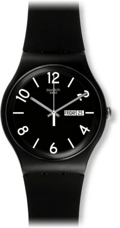 スウォッチ SWATCH NEW GENT(ニュージェント) BACKUP BLACK (バックアップ・ブラック) SUOB715 メンズ 腕時計 スウォッチ SWATCH NEW GENT(ニュージェント) BACKUP BLACK (バックアップ・ブラック) SUOB715 メンズ 腕時計