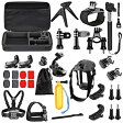 Neewer ニーワー 31-in-1 GoPro互換品 アクセサリーキット 各種マウント/ストラップ/工具 Neewer 31-in-1 Sport Accessory Kit for GoPro