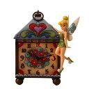 Disney Traditions ディズニー・トラディション Enescoエネスコ Jim Shore ジム・ショア ティンカーベルクロック 掛け時計