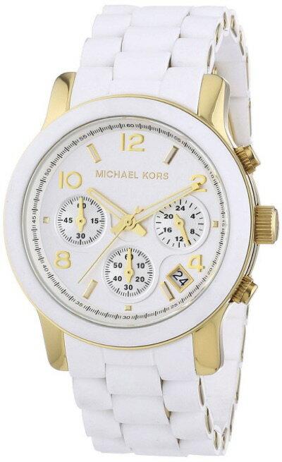 マイケルコース Michael Kors ラバーブレス クロノグラフ ウォッチ MK5145 レディース 腕時計 マイケルコース Michael Kors ラバーブレス クロノグラフ ウォッチ MK5145 レディース 腕時計