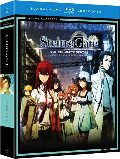 シュタインズ・ゲートコンプリート・シリーズ・クラシックTVアニメブルーレイSteinsGateCom