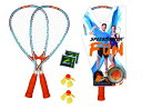 Speedminton Fun Badminton 【シャトルがバージョンアップ・新感覚のスポーツ】スピードミントン ファンセット ラケット2本&シャトルセット SKLZ