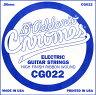 D'Addario エレキギター バラ弦 5本セット CG022 Chromes Flat Wound【daddario ダダリオ エレキ弦 cg-022】【ゆうパケット対応】