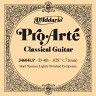 D'Addario クラシックギター バラ弦 5本セット J4604LP ProArte Lightly Polish【daddario ダダリオ クラシック弦 j4604lp】【ゆうパケット対応】
