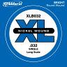 D'Addario ベース バラ弦 5本セット XLB032 Nickel Wound【daddario ダダリオ ベース弦 xlb032】【ゆうパケット対応】